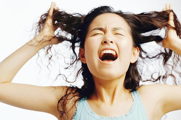 脱发与精神压力有关